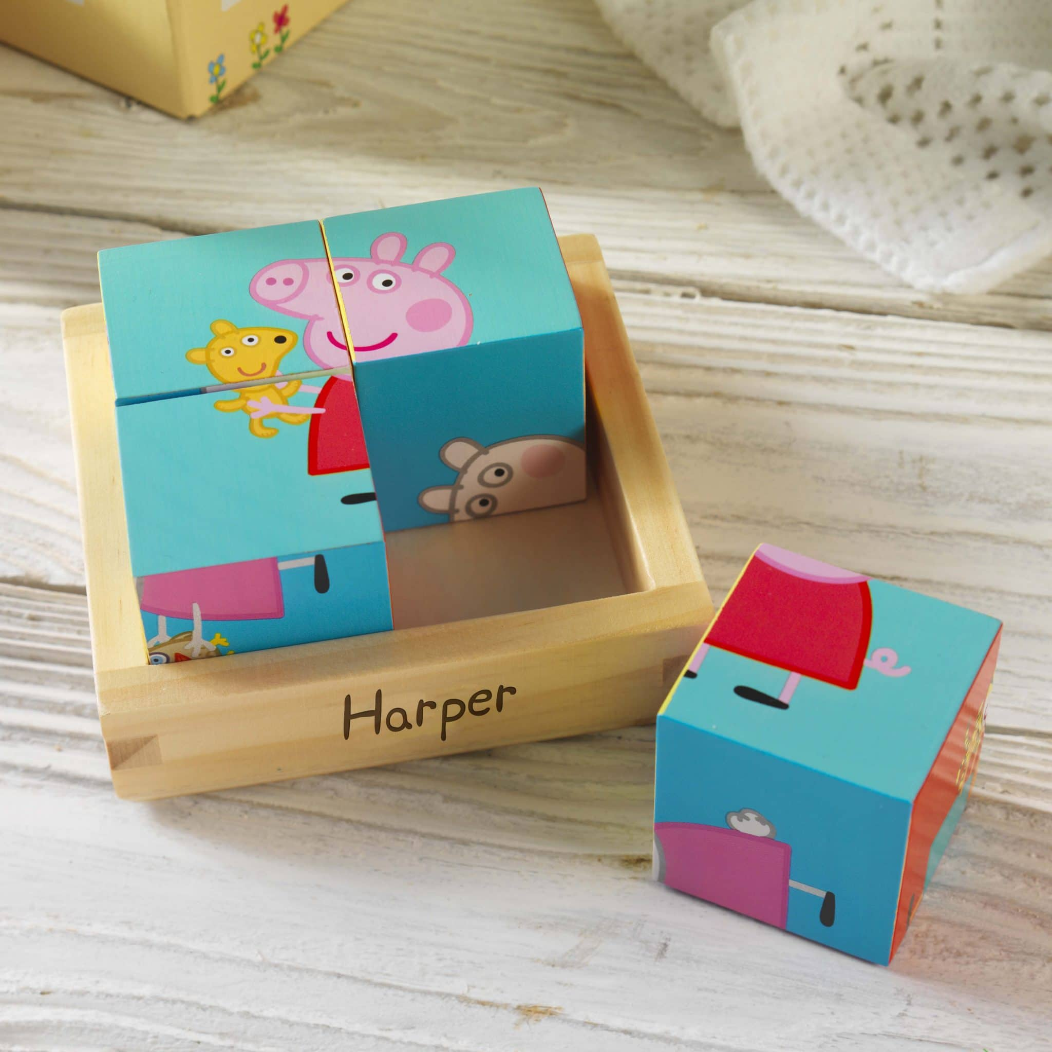 Peppa Pig Puzzle Blocks 1