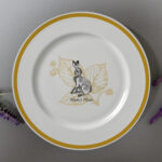 """Watership Down 8 Rimmed Plate - Clover"""" 2"""