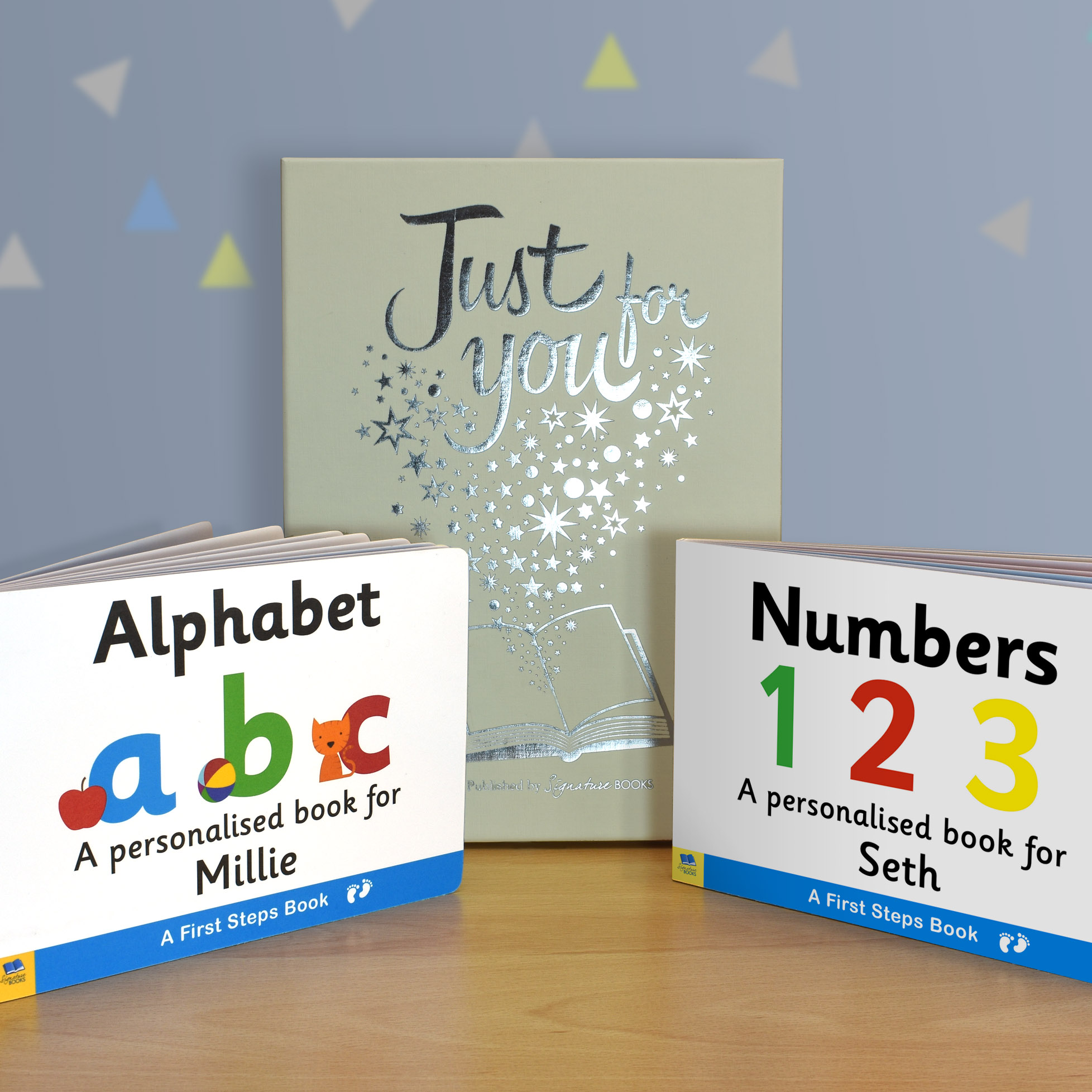 Alphabet & Numbers Board Book Gift Set 1