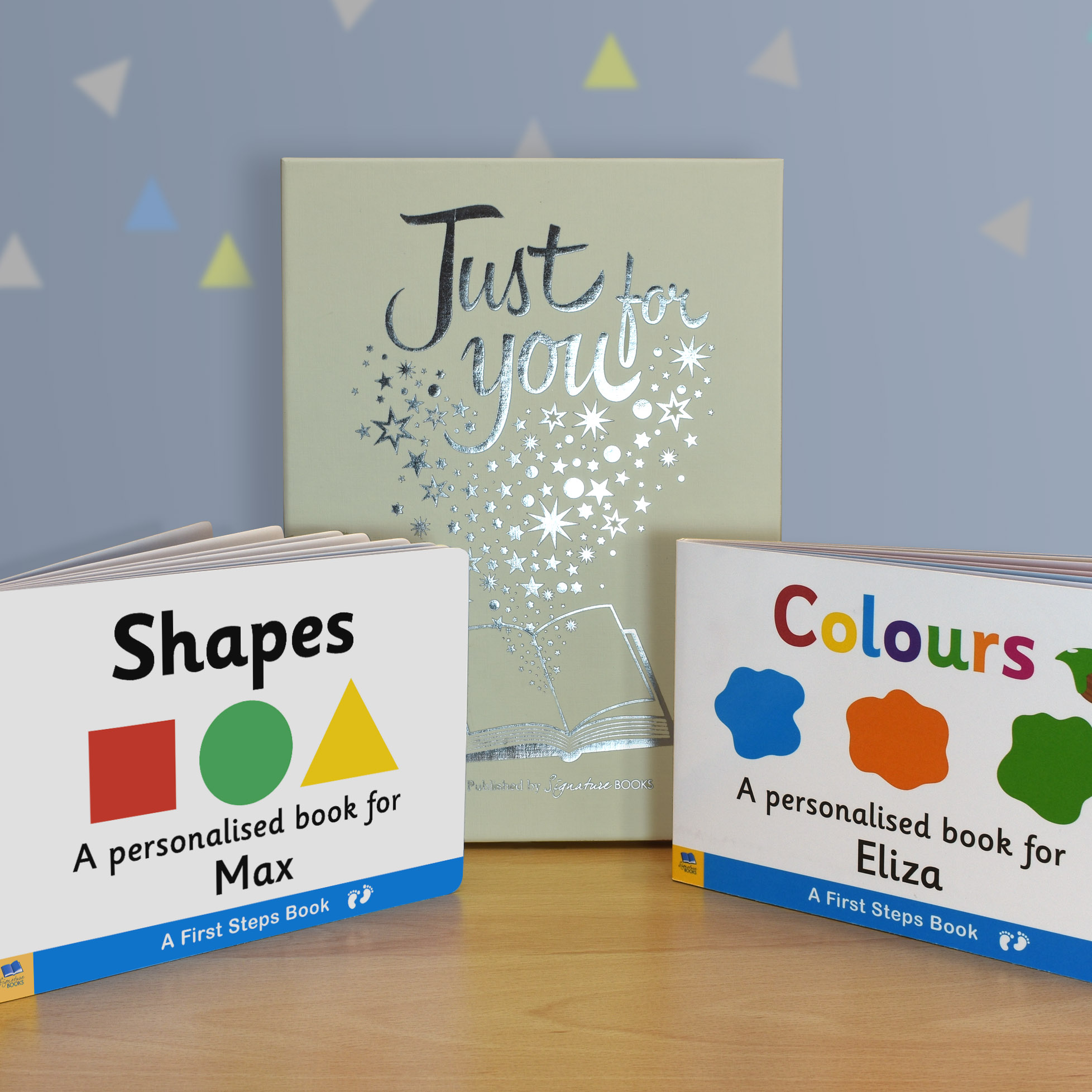 Shapes & Colours Board Book Gift Set 1
