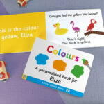 First Steps Colours Personalised Board Book 2