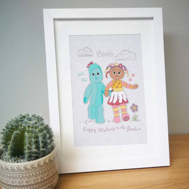 In The Night Garden Happy Walking Framed Print 1