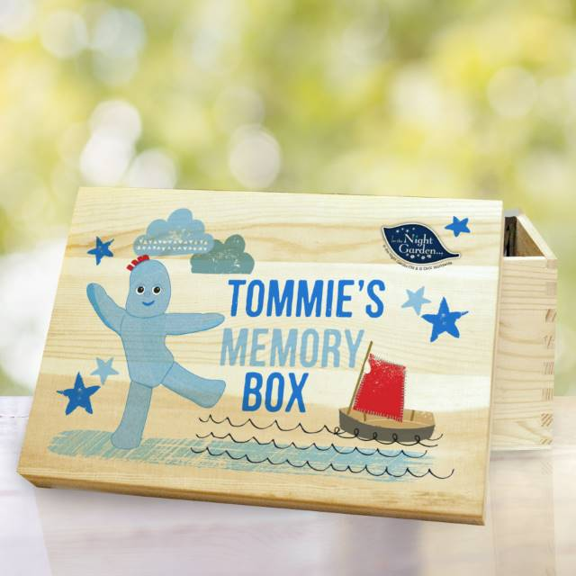 In The Night Garden Igglepiggle Wooden Storage Box 1