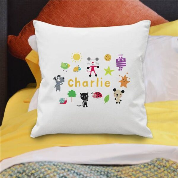 Arty Mouse Scatter Character Cushion