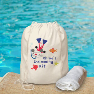 Arty Mouse Swimming Bag