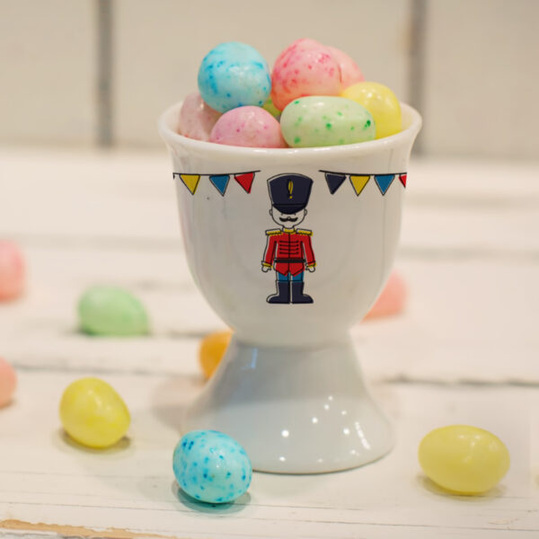 Soldier Footed Egg Cup
