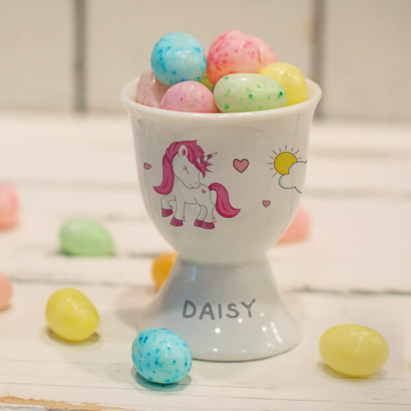 Unicorn Footed Egg Cup