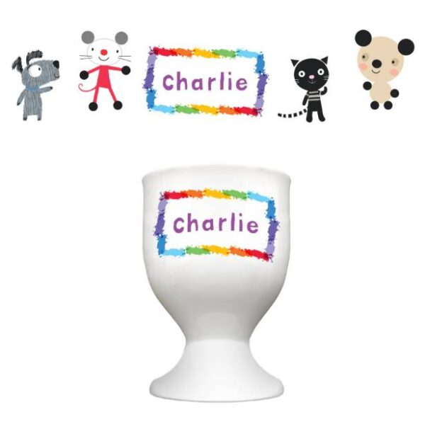 Arty Mouse Scatter Simple Character Egg Cup