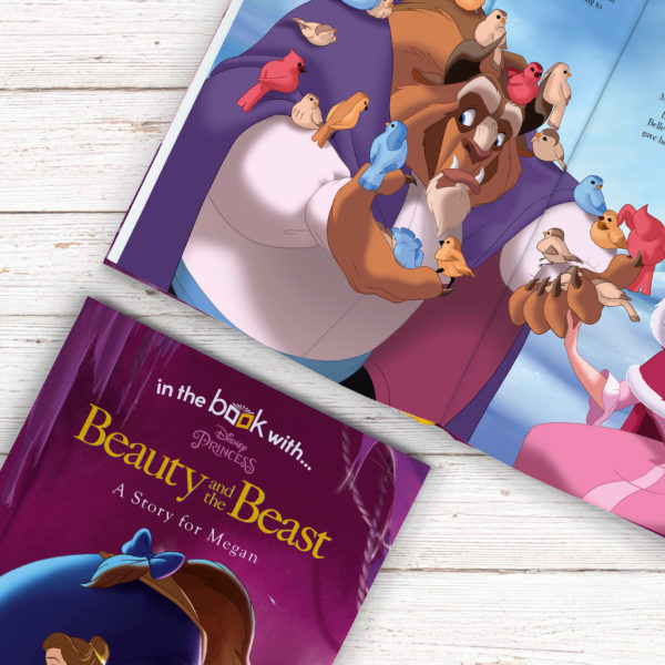 Personalised Disney Beauty & the Beast Story Book