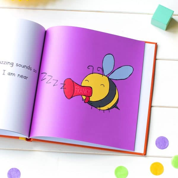 Personalised Children's Storybook I'd Rather Be A Bee