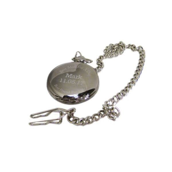 Best Man For A Day Pocket Watch & Tin