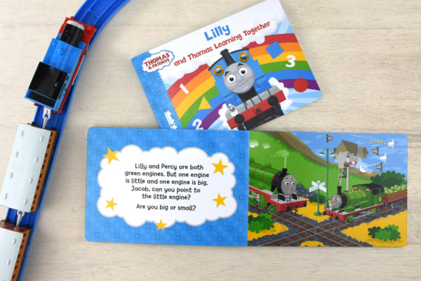 Personalised Me and Thomas Learning Together Board Book