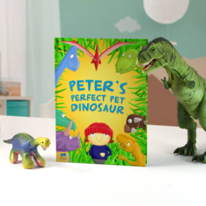 Personalised Pet Dinosaur Story Book - Softcover