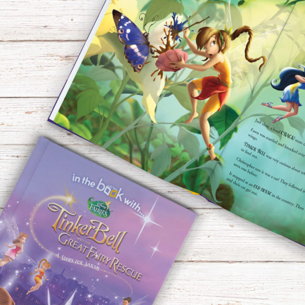 Personalised Disney Fairies Story Book -Softcover