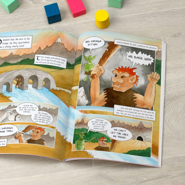 Personalised Children's Book Legend Of Child's Name - softcover