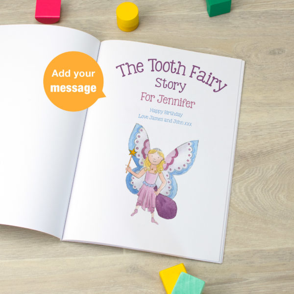Personalised Book Tooth Fairy Story