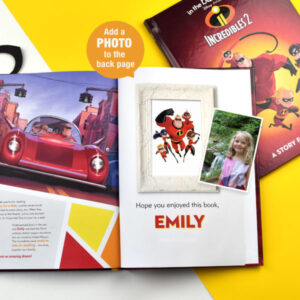 Personalised Disney Incredibles 2 Story Book- Softcover