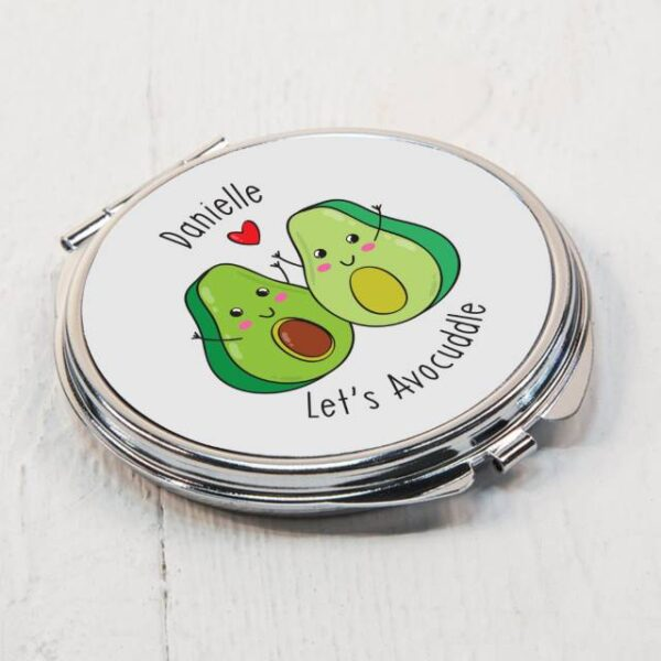 Let's Avo-Cuddle Compact Mirror