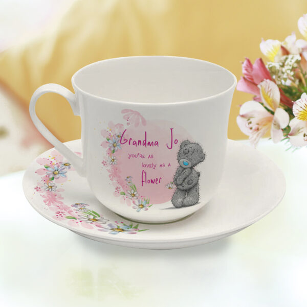 Me To You Lovely As A Flower Cup & Saucer