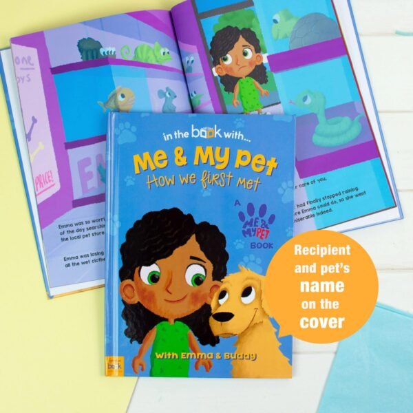 Personalised Me and My Pet Avatar Book