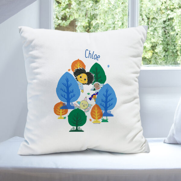 Moon and Me Forest Cushion