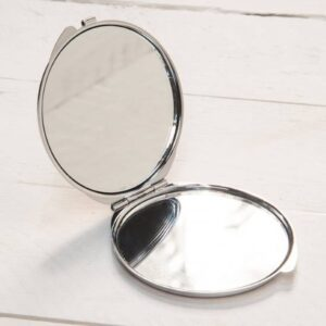 Pizza My Heart Compact Mirror