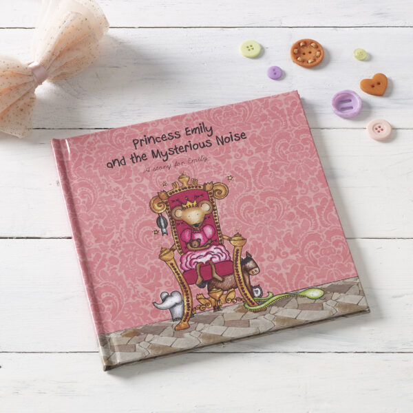 Princess and the Mysterious Noise Personalised Book