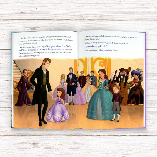 Personalised Disney Jr Sofia the First Story Book