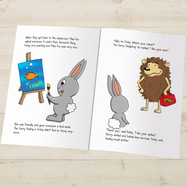 First Day At School Personalised Book