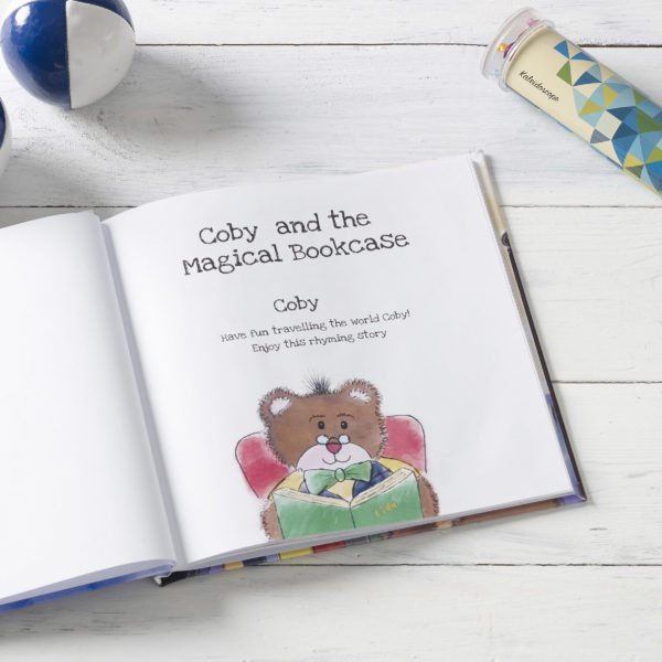 The Magical Bookcase Personalised Book