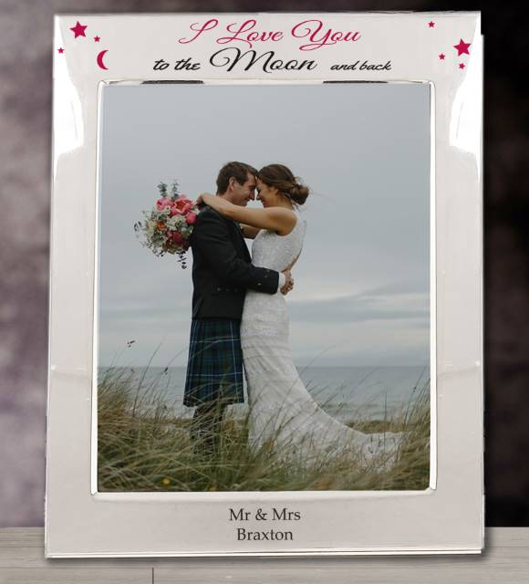 To The Moon & Back Printed SP 5x7 Photo Frame