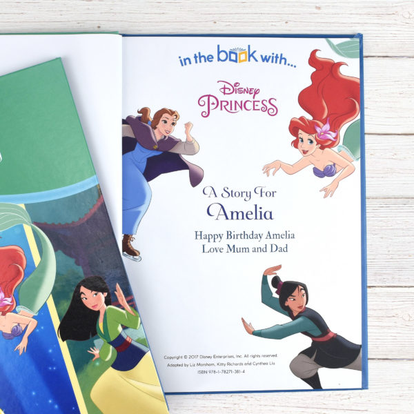 Personalised Disney Princess Tales of Bravery - softcover