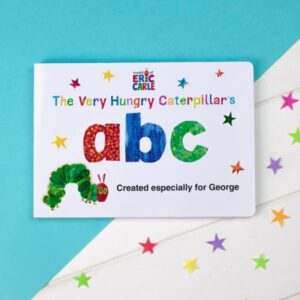 Personalised Children's Book Very Hungry Caterpillar Board Book – ABC