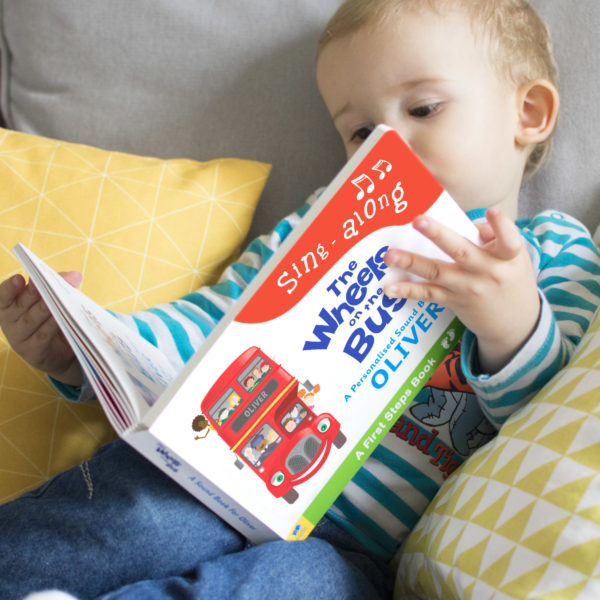 Personalised Child's Sound Book Wheels on the Bus