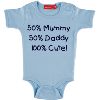 PERSONALISED BABY BODY SUIT ONSIE SHORT SLEEVE WITH A NAME