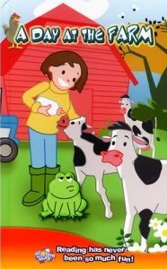 A Day at the Farm Personalised Book and a free cd-rom of same title