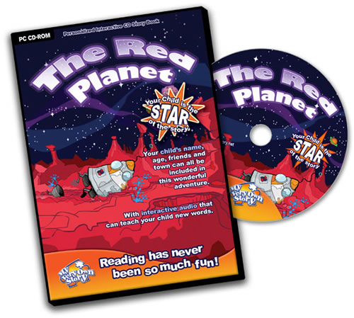 Personalised CD Red Planet Great Kids' Interactive Learning