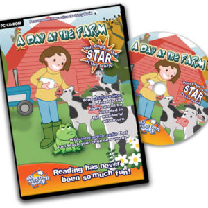 A Day at the Farm Personalised CD Kids' Interactive Learning