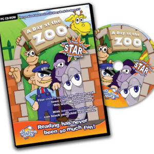 A Day at the Zoo Personalised CD Great For Kids' Interactive Learning