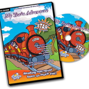 My Train Adventure Personalised CD For Kids' Interactive Learning