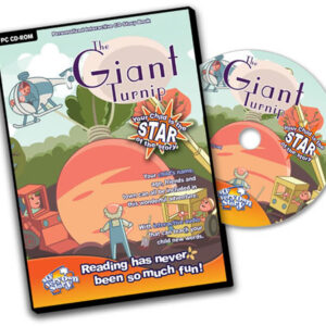 The Giant Turnip Personalised CD Great For Children's Interactive Learning