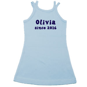 Child's Personalised Dress with a Beautiful Birthday Gift